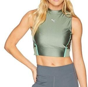 Puma Chase Sports Crop Bra Top